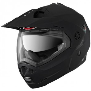 Caberg Tourmax Flip Up Helmet - Black