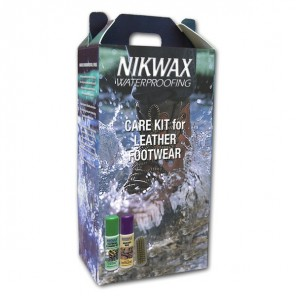 Nikwax Care Kit-For Leather Footwear 8 Pack
