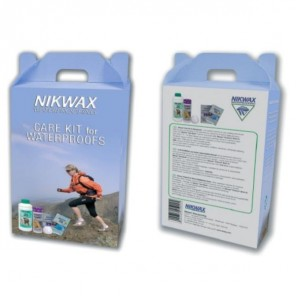 Nikwax Care Kit-For Waterproofs 6 Pack