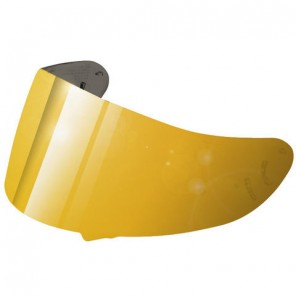 2d496277 Shoei Visor CW-1 Spectra Gold [NOT LEGAL FOR ROAD USE] ...