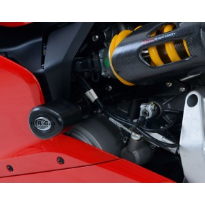 Ducati 899 / 959 / 1199 / 1299 Panigale | R&G Crash Protectors - Aero Style [No Drill Kit] | CP0389WH (White)
