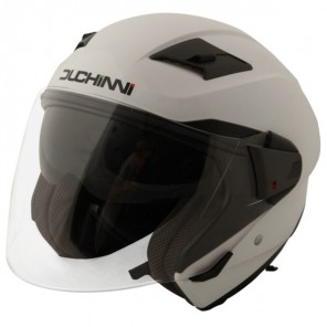 Duchinni D205 Jet Open Face Helmet - White