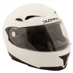 Duchinni D405 Full Face Helmet - White