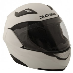 Duchinni D605 Flip Up Helmet - White