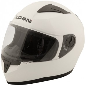 Duchinni D705 Full Face Helmet - White
