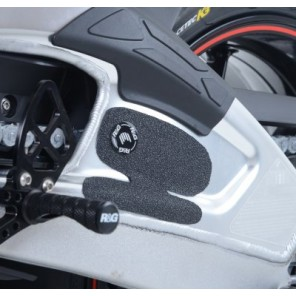 BMW S1000RR (All Years), BMW S1000R and HP4 Models | R&G Boot Guard Pads - EZBG101BL