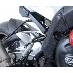BMW S1000RR '15- (Swingarm and Frame) | R&G Boot Guard Pads - EZBG102BL