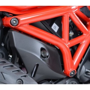 R&G Frame Plug Kit (6PCS) | Ducati Monster 1200 | S '14 | FI0083BK