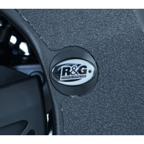 R&G Upper Left | Right Hand Side Frame Plug  Yamaha YZF-R1 2015 | FI0100BK
