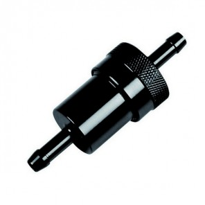 Alloy Fuel Filter - Black