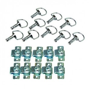 Quick Release Rings (10pc set)