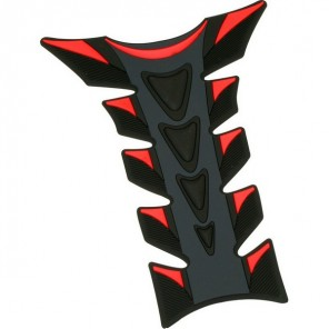 Rubber Tank Pad - Various colours - Red