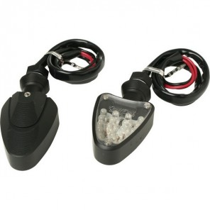 Alloy LED Indicators - Black