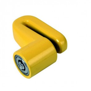 5mm Firefly Disc Lock  - Yellow