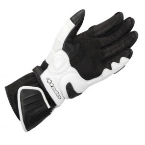 GP Plus Leather Glove - Black/White