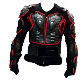 GP-PRO MOTO-X Protector Jacket - Black/Red