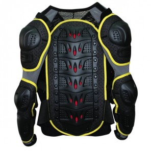 GP-PRO Youth MOTO-X Protector Jacket - Black/Yellow