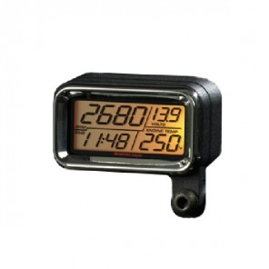 Translogic Digital LCD Gauge for Harley Davidson Sportster - Chrome