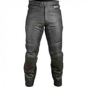 Weise Hydra Leather Jean - Black