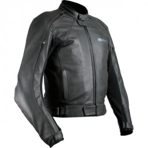 Weise Hydra Leather Jacket - Black