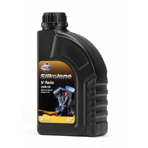 Silkolene 4-Stroke Engine Oil | V-Twin 20W-50 | Semi Synthetic | 1 litre