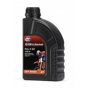 Silkolene 4-Stroke Engine Oil | Pro 4 SX 15W-50 | Fully Synthetic | 1 litre