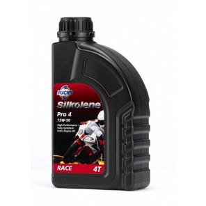Silkolene 4-Stroke Engine Oil | Pro 4 10W-60 | Pro Fully Synthetic | 1 litre