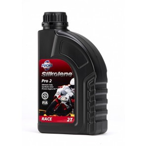 Silkolene 2-Stroke Engine Oil | Pro 2 | Pro Fully Synthetic | 1 litre