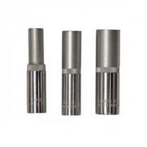 "King Dick Socket Deep 1/4"" Square Drive Set"