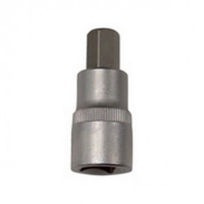 "King Dick Socket Short Hex Bit 1/2"" Square Drive 7mm"