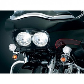 Kuryakyn Driving Lights for Harley Davidson - Chrome