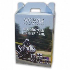 Nikwax Motorcycle Care Kit-Leather 6 Pack