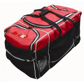 BikeTek Luggage Midi Kit Bag - Black/Red