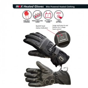 Inox HotGlove Heated Gloves - Black
