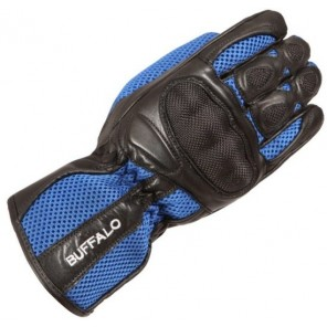 Buffalo Racetex Glove - Black / Blue