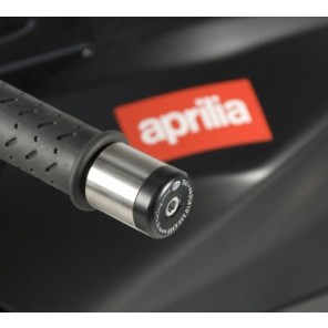 Aprilia Futura, Mana '08, RSV Mille '98-, RSVR '04-, Tuono '04- | R&G Bar End Sliders | BE0008BK