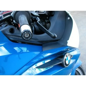 BMW K1200/K1300 | R&G Bar End Sliders | BE0025BK