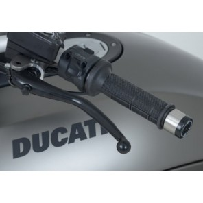 Ducati Diavel | R&G Bar End Sliders | BE0074BK