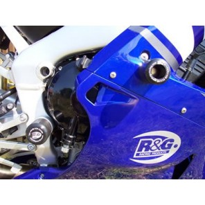 Yamaha YZFR1 98-03 | R&G Crash Protectors | Classic Style | CP0044WH (WHITE)