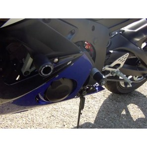 Yamaha YZFR6 03-05 | R&G Crash Protectors | Classic Style | CP0093WH (WHITE)