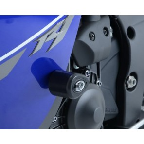 Yamaha YZF-R1 2013 [ Drill Kit] | R&G Crash Protectors | Aero Style | CP0359WH (WHITE)