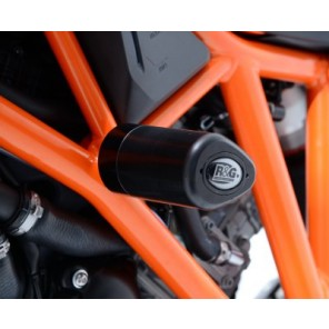 KTM 1290 Super Duke R '14- | R&G Crash Protectors | Aero Style | CP0361WH (WHITE)