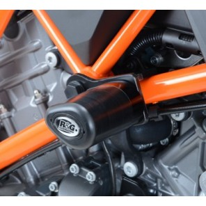 KTM 1290 Super Duke R '14 | R&G Aero Crash Protectors | KTM 1290 Super Duke R '14 | CP0367BL (BLACK)