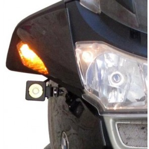 Denali Auxiliary Light Mounting Kit for BMW R1200RT, '05-'13 DENLAH.07.817.10000.B
