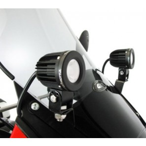 Denali Fairing-mounted Light Brackets for '08- Kawasaki KLR650E DENTWT.LAH.08.003.100