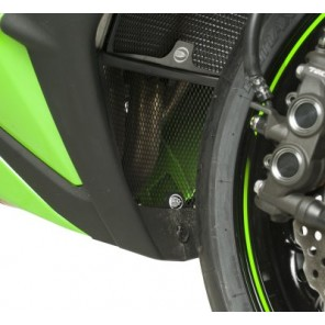 R&G Downpipe Grille for Kawasaki ZX-10R '11- DG0003BK
