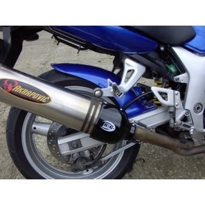 R&G Oval Exhaust Protector   (Can Cover)   EP0004BK