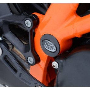 R&G Frame Plug Kit | KTM 1190 Adventure '13 | 1290 Super Duke R '14 |  FI0060BK