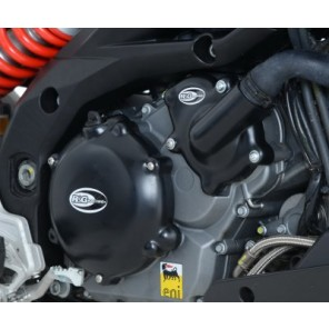 Aprilia Caponord 1200 and Dorsoduro 1200 | R&G Engine Case Cover Kit (3pc) | KEC0058BK
