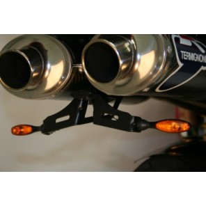 Ducati 748/916/996 & 998 (with R&G LEG Micro Indicators included) | R&G Tail Tidy| LP0035BK (Black)